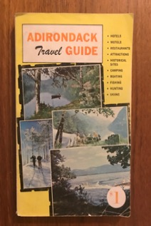 1967Adirondack Travel Guide (Photo by author)