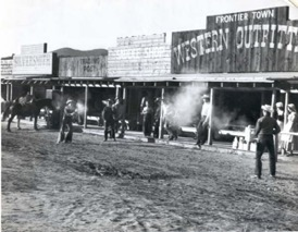 A gunfight at Frontier Town