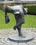 Bronze statue of Johnny Podres at the Baseball Hall-of-Fame in Cooperstown Source: wikivisually.com/wiki/Johnny_Podres