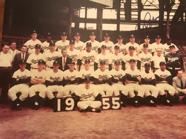 1955 Brooklyn Dodgers  (Podres Collection)
